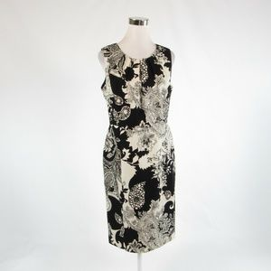 Black ivory TALBOTS sheath dress 10